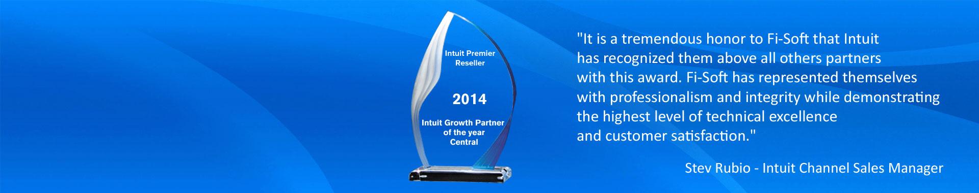 Fi-Soft receives top Intuit award
